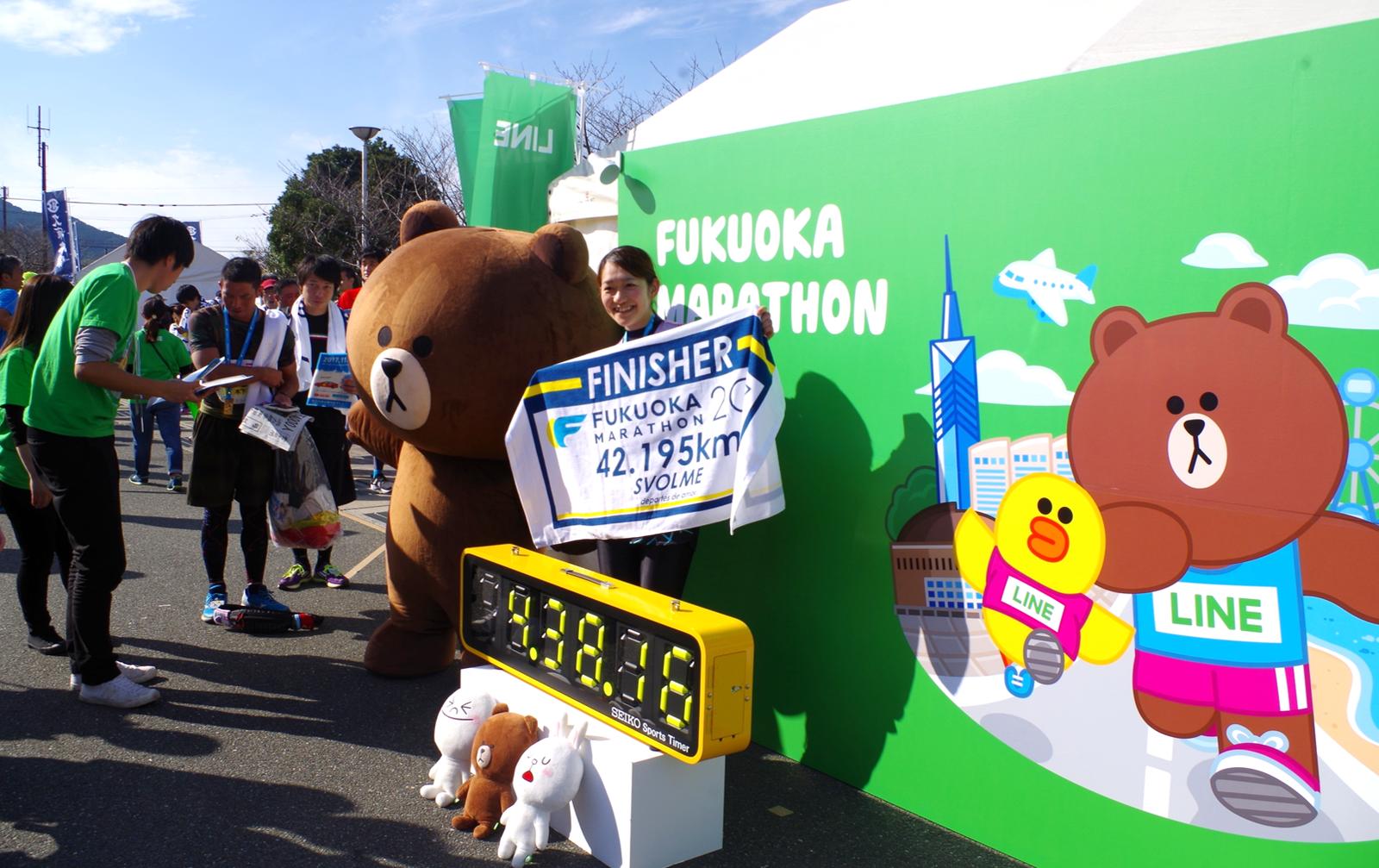 LINE  福岡マラソン_フォトスポット (2)