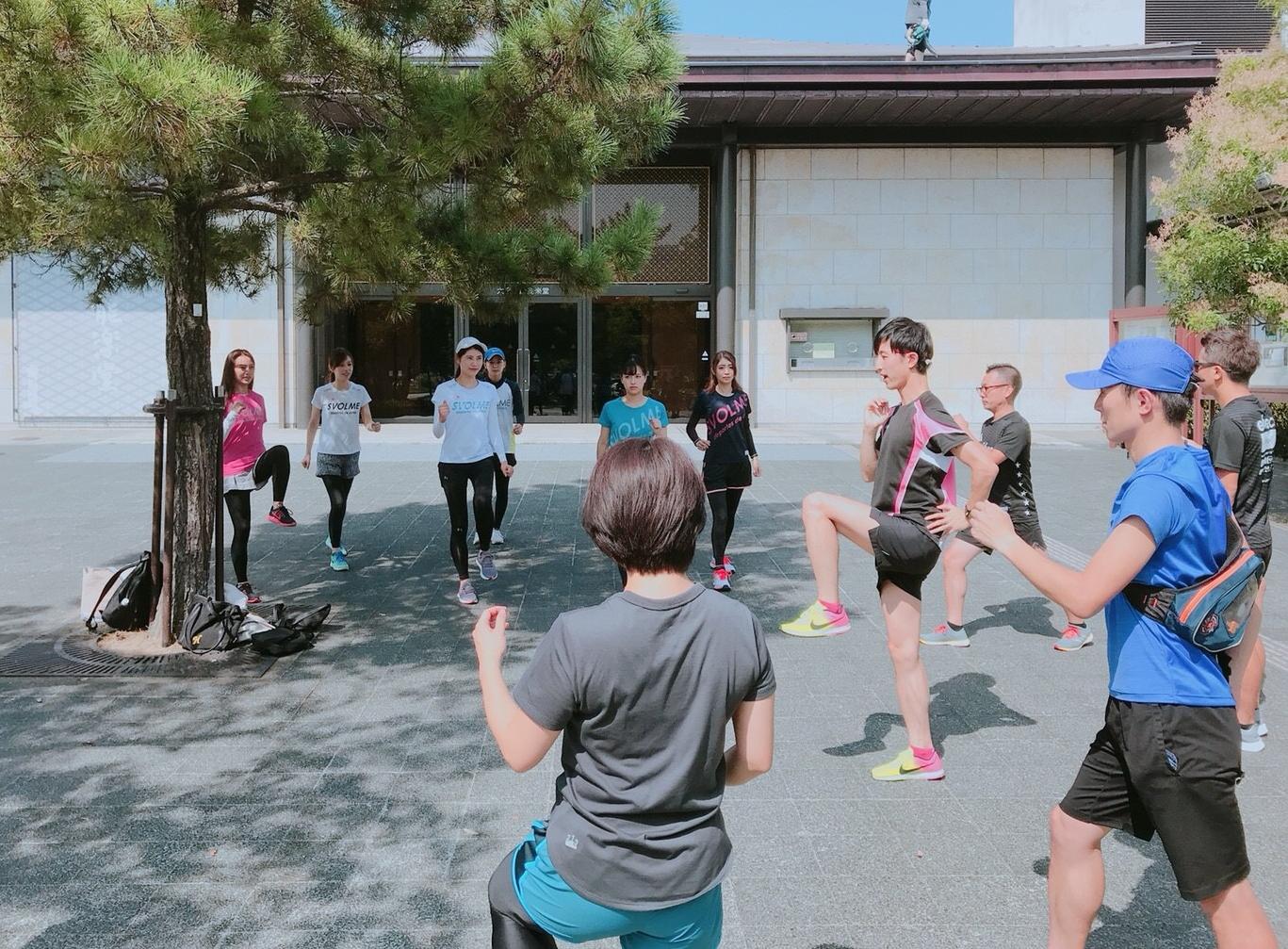 チャレンジチーム練習写真