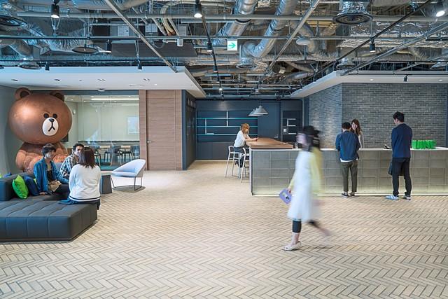 LINE Fukuoka オフィス