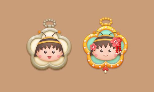 pendants_Chibimaruko