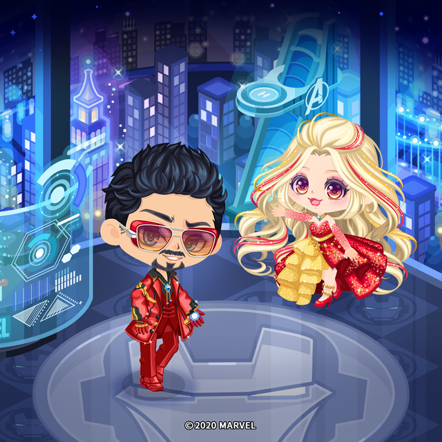 LINE PLAY_0522_Iron Man Official Room1