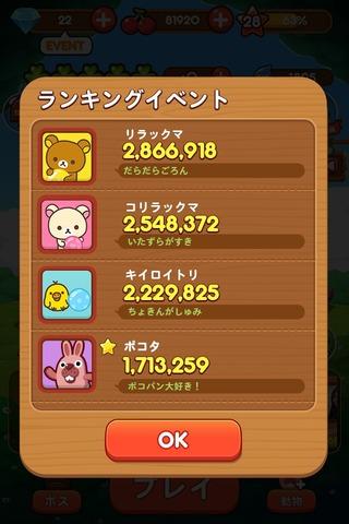 0331_rillakkuma ranking