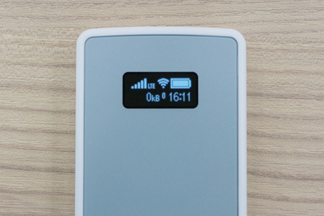 Aterm MP01LN液晶アップ