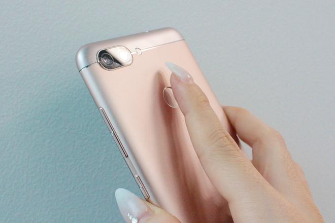 ZenFone指紋認証