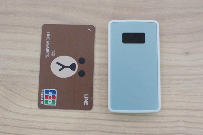 ZenFoneLINE Pay カードと比較