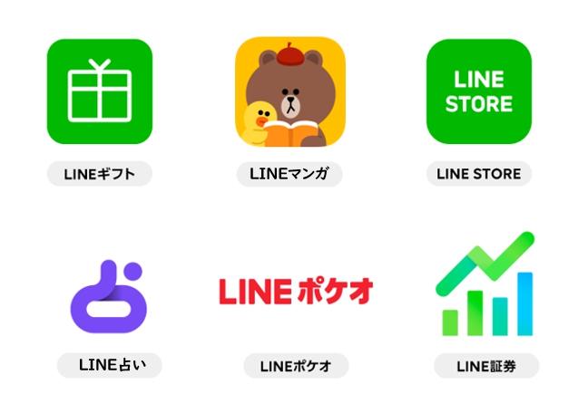 LINE各種サービス
