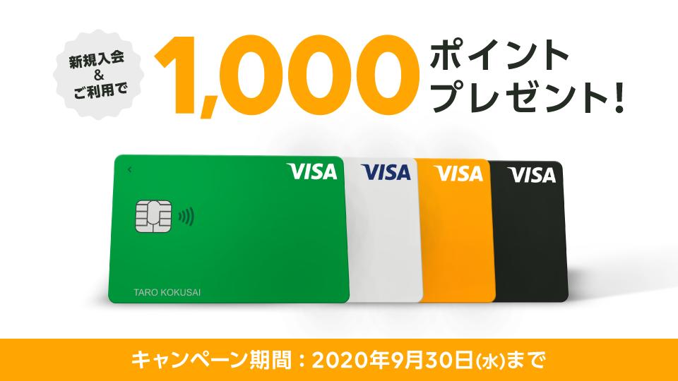 VisaクレカCP画像