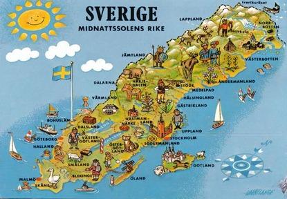 swedenmapcard