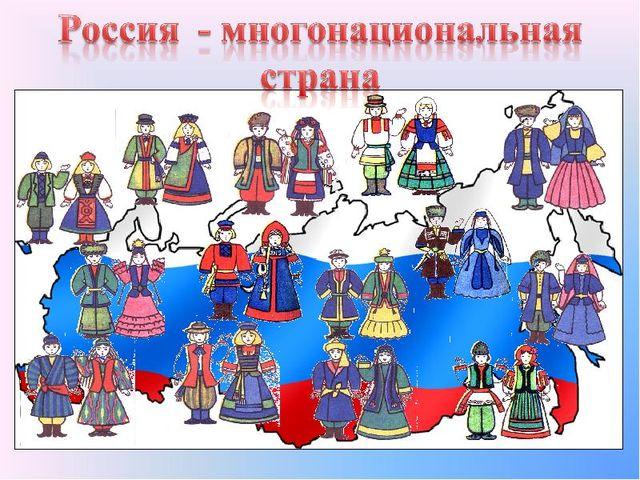 россия картинки население