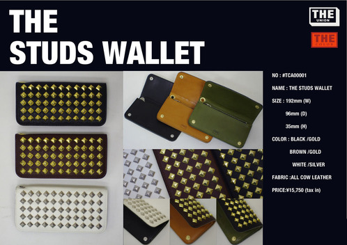NEW THE STUDS WALLET