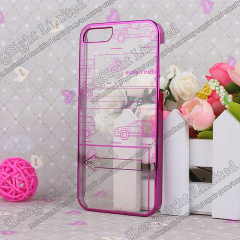 2013新品★クリアiPhone-5ケースNO-65