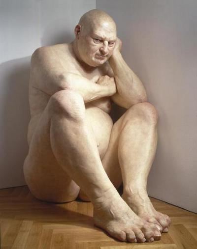 big-man-by-ron-mueck-2006