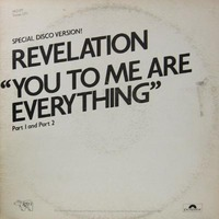 Revelation You to Me Are Everything