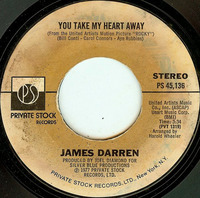 James DarrenYou Take My Heart Away 1977