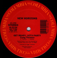 New Horizons Get Ready, Let's Party 1983
