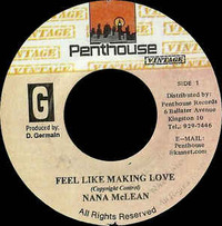 Nana McLean Feel Like Making Love