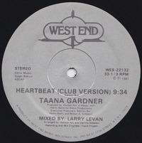 Taana Gardner Heartbeat 1981 west end