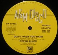 Peter Allen Don't Wish Too Hard (2)