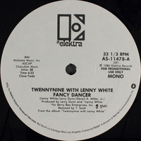 Twennynine With Lenny White Fancy Dancer 1980 Elktra