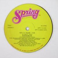 Sinnimon Say It Again 1986 Spring