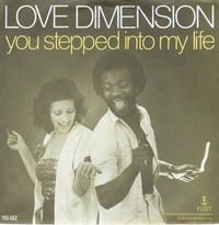 Love Dimension You Stepped Into My Life 1979