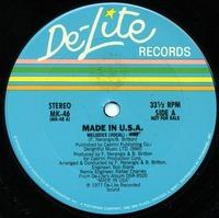 Made in U.S.A Melodies 1977 De-Lite