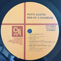 Patti Austin End Of A Rainbow 1976  PS