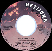 Split Decision Band Watchin' Out Network Records 1978