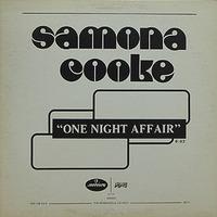 Samona Cooke One Night Affair 1978 Mercury