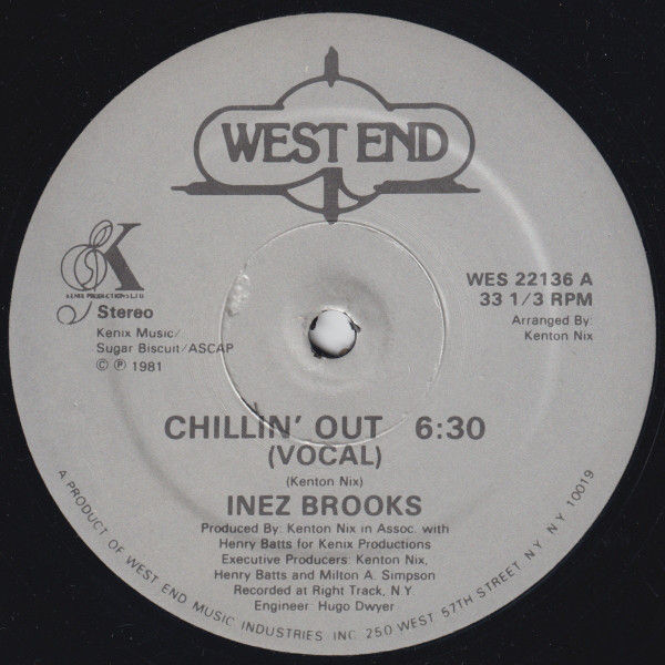 Inez Brooks Chillin Out