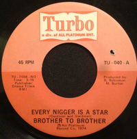 Brother To Brother Every Nigger Is A Star 1974 Turbo