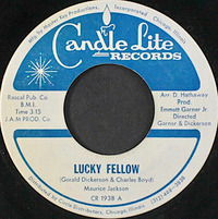 Maurice Jackson  Lucky Fellow 1971  Candle Lite Records