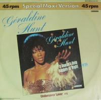 Geraldine Hunt Undercover Lover 1981