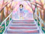 春風の階段