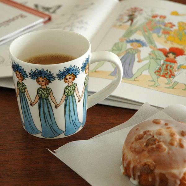 マグカップ,Cornflowerヤグルマギク,エルサベスコフ