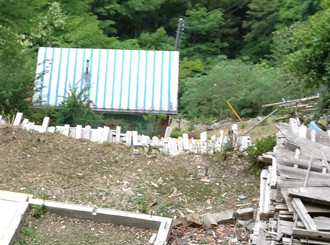倉沢集落の住居新しい拡大