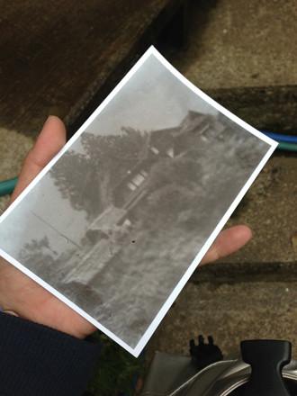 古い集落の写真
