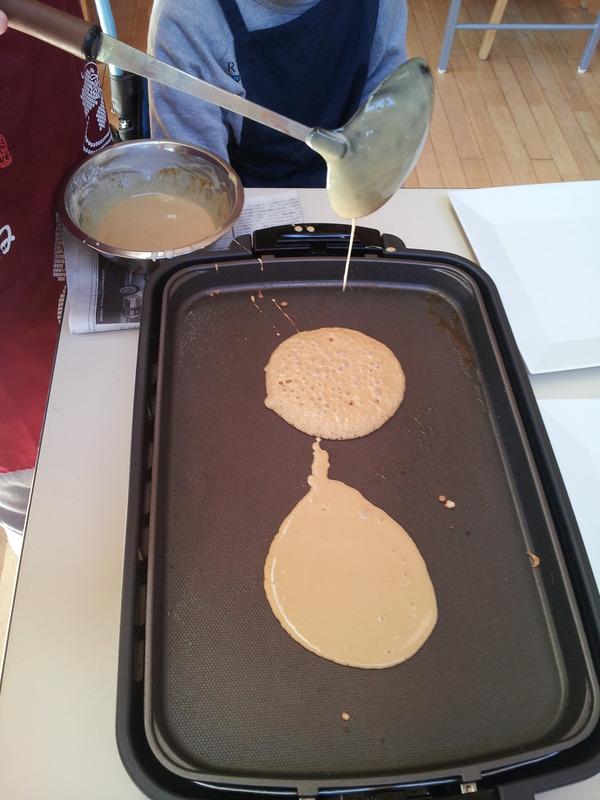 ホットケーキ焼き