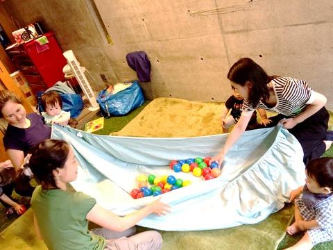 【6/26 第二回開催】雨の日も楽しくなるMaisy絵本やJump in the puddle gameなど