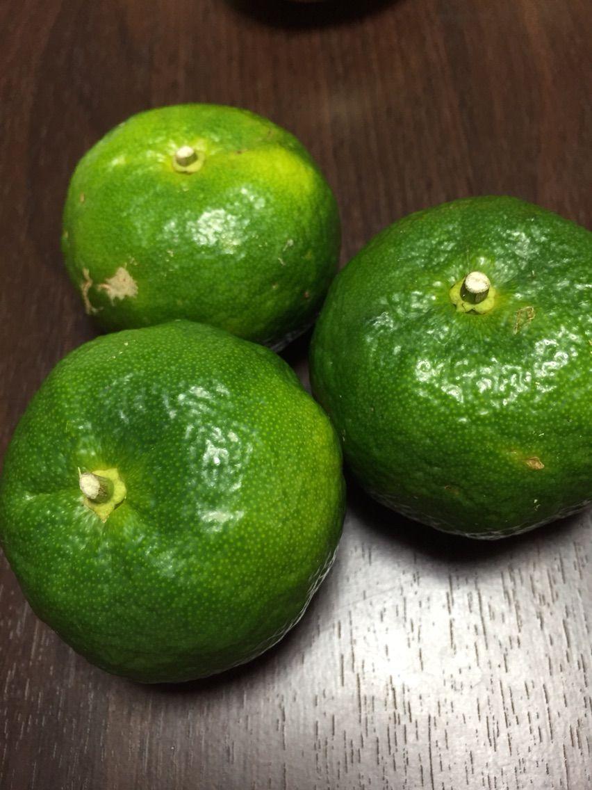 沖縄産 10月〜11月の旬の果物。カーブチー : リトル沖縄からの ...