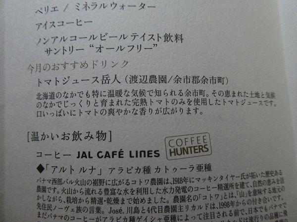 27 JALファーストクラス