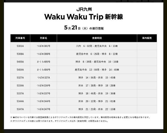 11 ミッキー新幹線時刻表