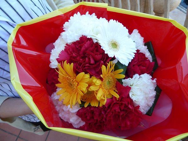 15 ミッキー花束