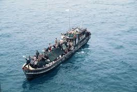 0refugees use boats