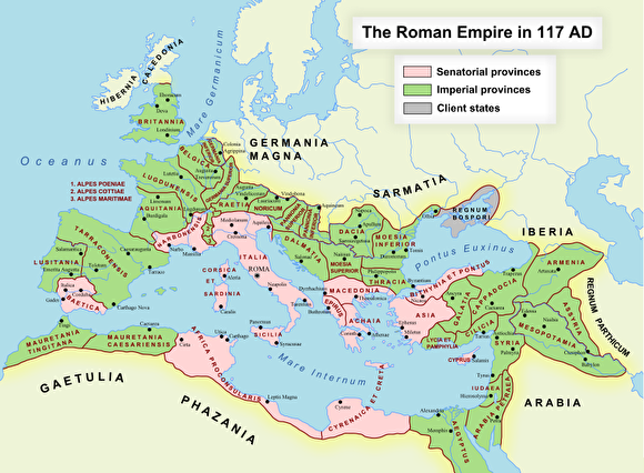 0roman empire the largest trajanus