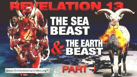 0two beasts of revelation13