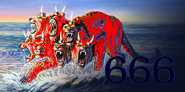 0scarlet colored beast of revelation17