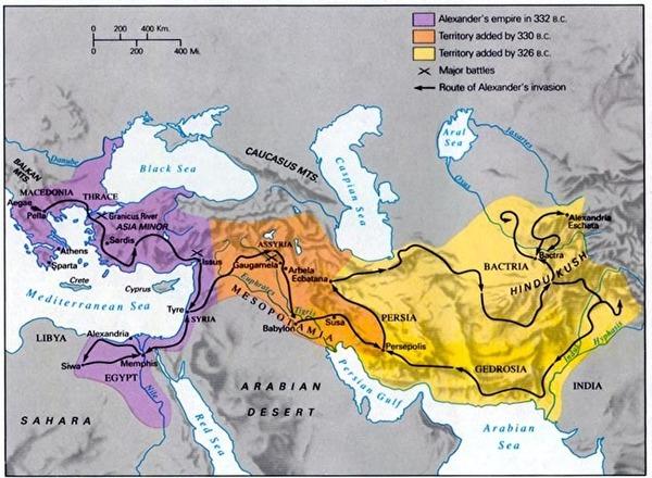 0alexander's empire map