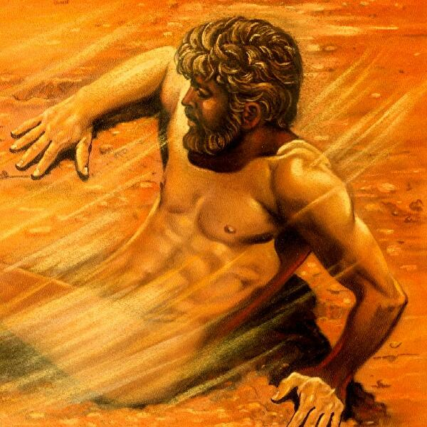 0adam was created out of dust small
