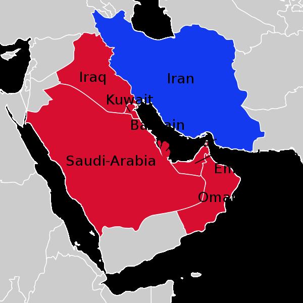 0iran and saudi arabia